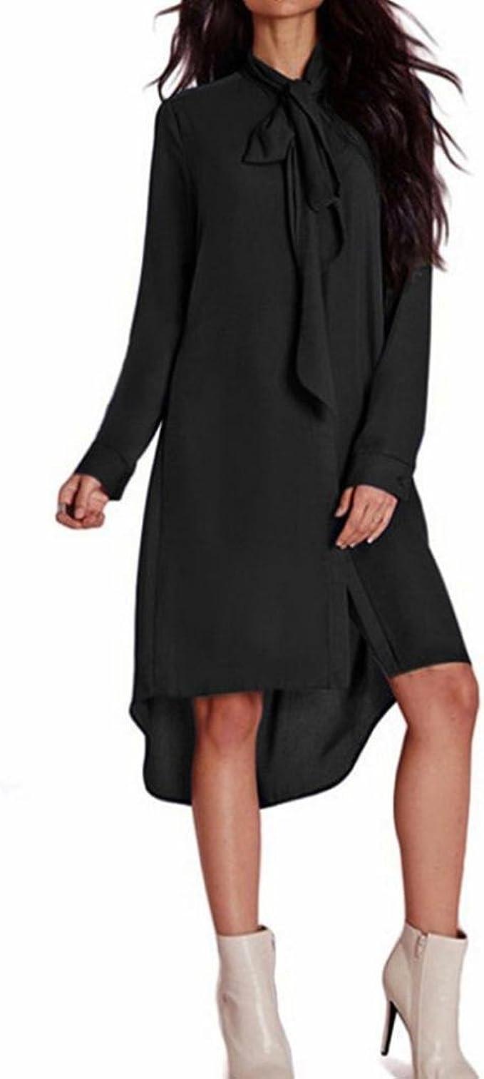 Xinan Damen Kleider Lang Abendkleid Cocktailkleid Frauen Casual
