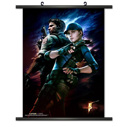 CWS Media Group Officially Licensed Resident Evil 5 Game Wal