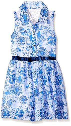 Buy belted chiffon shirt dress - 2
