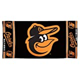 MLB Baltimore Orioles 30 by 60 Fiber Reactive Beach Towel