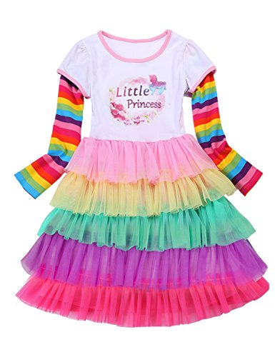Big Sister Dress Unicorn Girl Dress Gift,LittlePrincess2,8-9 Years(Size 150) for $<!--$14.99-->