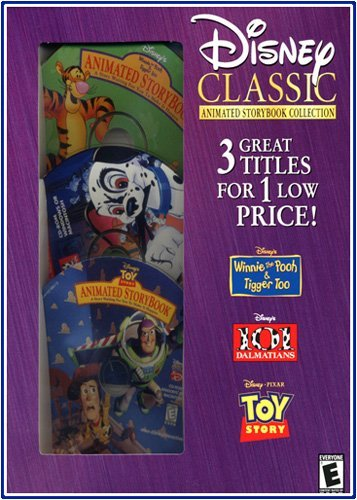 Disney Classic Animated Storybook Collection: Winnie the Pooh & Tigger Too / 101 Dalmations / Toy Story