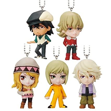 Amazon.com: Tiger & Bunny Cara Real Swing – 5pc Set ...