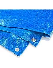 Afdekzeil 2 x 4 meter - 60 g blauw