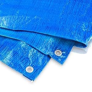 Bradas - Brad - lona protectora (60 g, 4 x 8 m), color azul