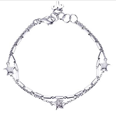 c89dbc4de0e Buy Dolly Jewels 925 Sterling Silver Bracelet for Womens Online at Low  Prices in India | Amazon Jewellery Store - Amazon.in