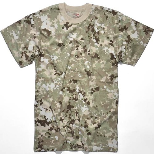 Rothco T-Shirt, Total Terrain Camo, Large