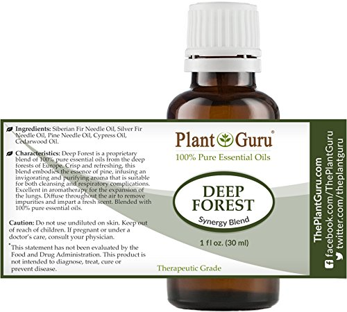 Deep-Forest-Synergy-Essential-Oil-Blend-30-ml-100-Pure-Undiluted-Therapeutic-Grade-Aromatherapy-Respiratory-System-Support-Air-Purifier-Sinus-Cold-and-Flu-Relief-Natural-Christmas-Scent