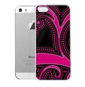 Light weight with strong PC plastic case for iPhone iphone 5s Patterns Patterns Sudden Blush