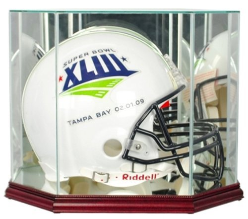 Gold Standard Perfect Cases Perfect Football Helmet Octagon Display Cases