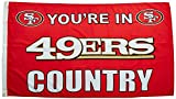 NFL San Francisco 49ers Country 3-by-5 Feet Flag