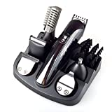 AMCHOICE 6 in 1 Hair Trimmer Titanium Hair Clipper Electric...