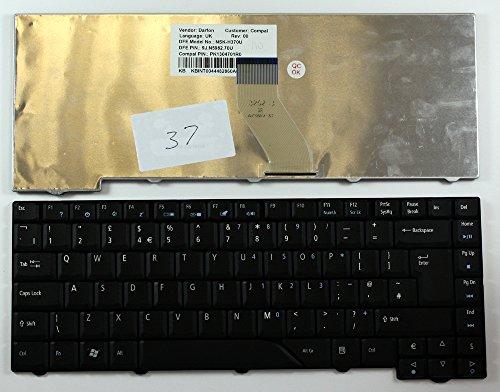 Keyboards4Laptops UK Layout Replacement Laptop Keyboard Black For Acer Aspire 5530, Acer Aspire 5710, Acer Aspire 5715Z, Acer Aspire 5720, Acer Aspire 5720Z