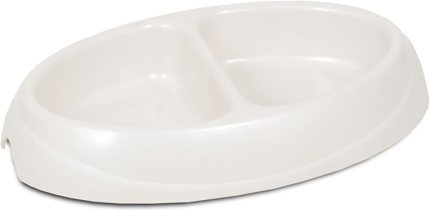Petmate 23174 Double Diner Pet Dish, Small