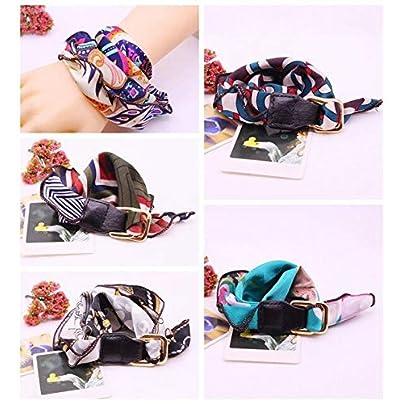 ZUOZUO Leather Wristband Women S Golden Charm Ribbon Cloth Bracelet Multicolor Eagle Pendant Bracelet Wristband Estimated Price £20.99 -