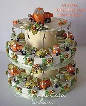 Torte Bomboniere 10 Schachteln Mit Autos Taufe Konfirmation