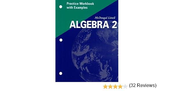 Amazon.com: Algebra 2 Practice Workbook with Examples ...