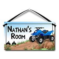 ATV Personalised Kids Door Sign