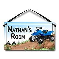 ATV Personalised Kids Door Sign