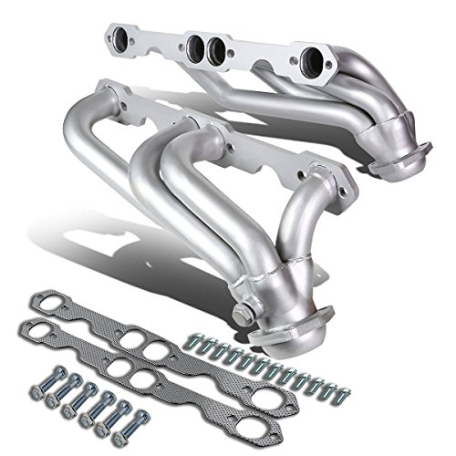 DNA Motoring HDC-GMC85-T2 Stainless Steel Exhaust Header Manifold [For 88-97 Chevy GMC C/K Blazer Tahoe Yukon]