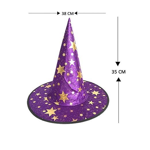 FIREWSJ Decoración De Disfraces De Halloween Vestido De Bruja De ...