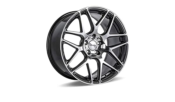 Amazon Com 22 Inch Ace Mesh 7 Matte Mica Grey Staggered Wheels Rims Set Of 4 Includes Front 22 X9 Rear 22 X10 5 Fit Bmw 7 Series Automotive