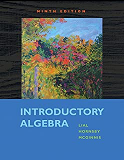 Introductory algebra lial developmental mathematics paperback introductory algebra 9th edition fandeluxe Images