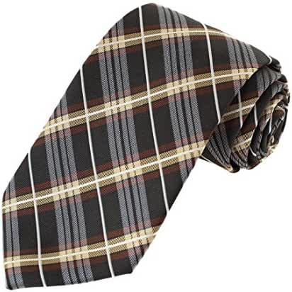 EA-AEG-C.07 Pretty Checkered Mens Tie Series For Working 3 Sizes Options By Epoint