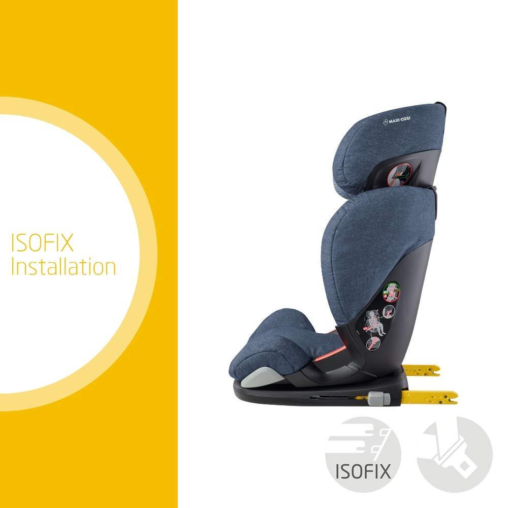 grau Maxi Cosi RodiFix AirProtect 3,5-12 Jahre Kindersitz Gruppe 2//3 15-36 kg, optimaler Seitenaufprallschutz AP ISOFIX-Sitzerh/öhung Nomad Grey