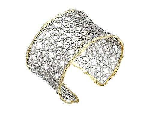 KENDRA Scott Signature Candice Bracelet mixte Plaqué or/rhodium plaqué