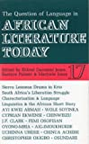 img - for ALT 17 The Question of Language in African Literature Today book / textbook / text book
