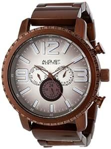 August steiner men 39 s as8067br multi function gradient dial quartz bracelet watch for Gradient dial watch