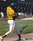 BILLY CONIGLIARO OAKLAND A'S ACTION SIGNED 8x10 - Autographed MLB Photos