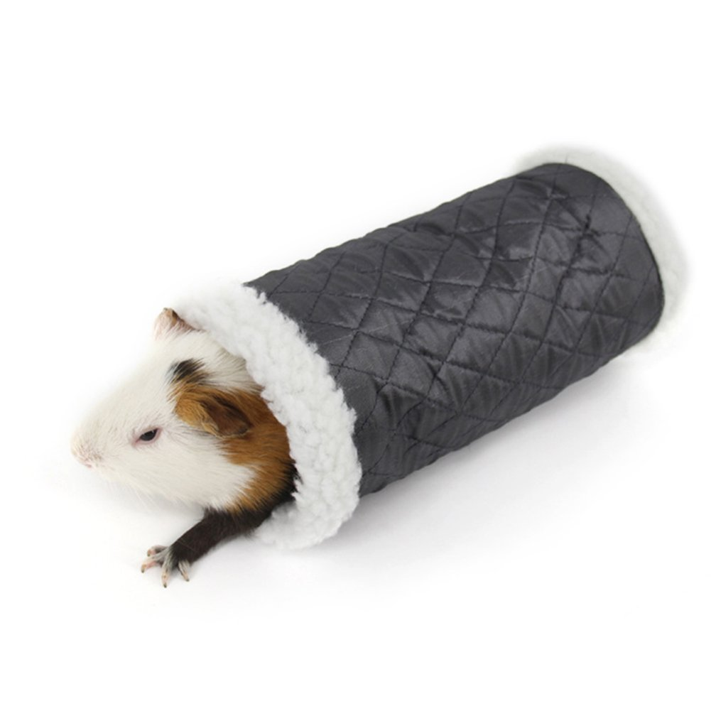 Cheerfulus Nid Oiseaux de Noël Domestique Hamster Chinchilla Maison Lit Écureuil Rat Lapin Cochon d'Inde d'hiver Chaud à Suspendre Maison Nid Cage Cadeaux de Noël