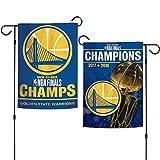 WinCraft Golden State Warriors NBA 2018 Champions Double Sided Garden Flag Banner