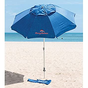 Tommy Bahama Parasol With Sand Anchor 2 1 M Diameter And 2 45 M
