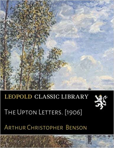 The Upton Letters. [1906]