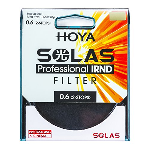 HOYA Solas ND-4 (0.6) 2 Stop IRND Neutral Density Filter (67mm)