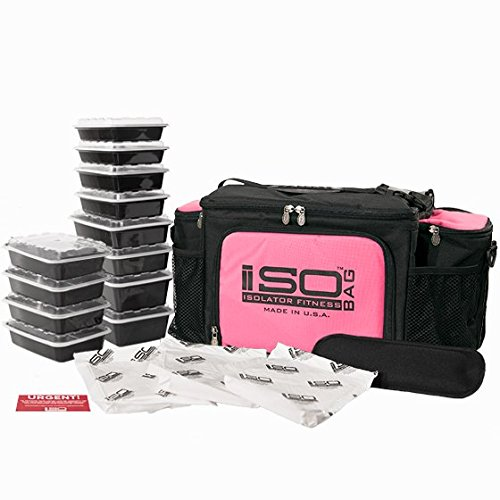 2nd Isobag Meal Pink Black product image