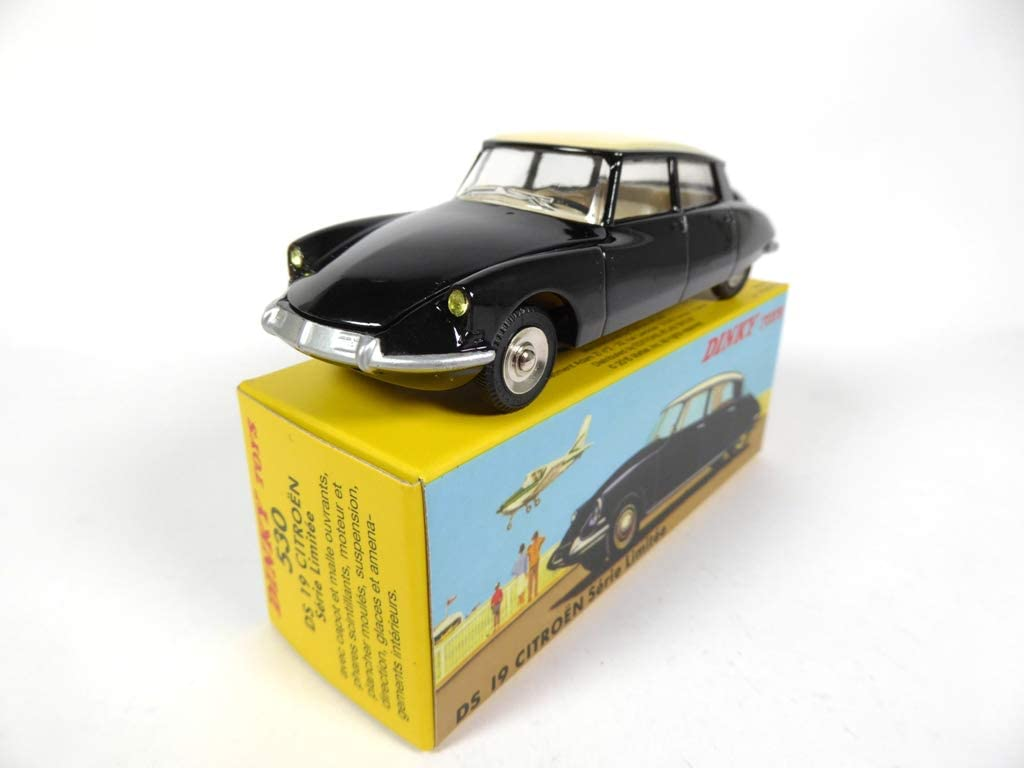 OPO 10 - Atlas Dinky Toys - Citroen DS 19 Black Series Limited 530 1:43 (MB409)