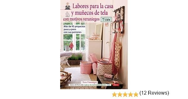 Labores Para La Casa y Muñecos de Tela Con Motivos Veraniegos ...