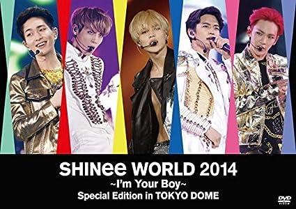 Amazon com: SHINee World 2014 -I'm Your Boy- Special Edition