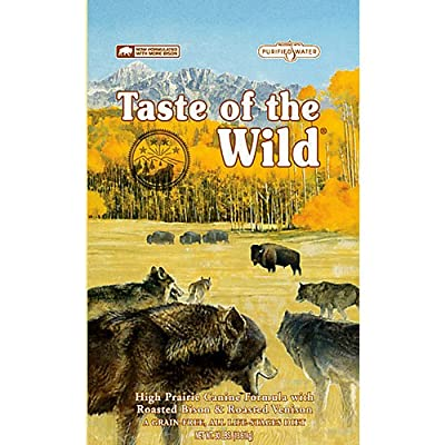 Taste of the Wild Grain Free High Protein Natural Dry Dog Food