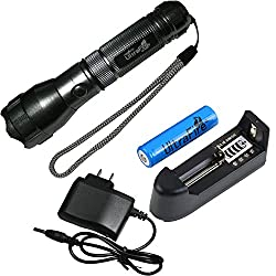 2014 ARRIVAL Flashlight-UltraFire CREE Q5 300LM 535 Rechangable 3-Mode Portable Mini LED Flashlight Torch-Silver With Battery And Charger for hunting, cycling, climbing, camping and outdoor activity etc from Spring Digi Center
