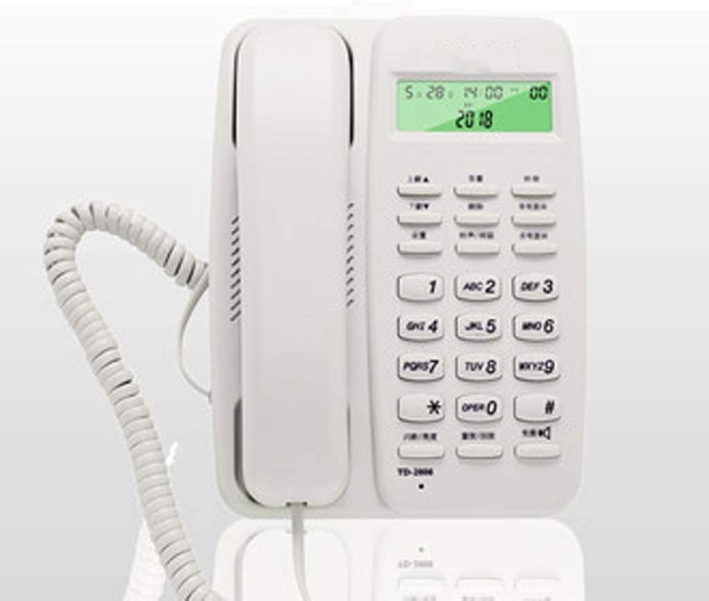 GAOLE Loud botón Grande con Cable de teléfono - Individual DECT Teléfono Inalámbrico con Sonido Amplificado y Grandes Botones - Teléfonos con Cable Inicio - Teléfono Fijo (Color : F): Amazon.es: Hogar