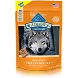 Blue Buffalo Wilderness Grain Free Dog Biscuits Trail Treats Turkey 24Oz