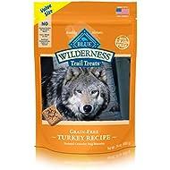 BLUE Wilderness Trail Treats Grain-Free Value Size Turkey Biscuits Dog Treats 24-oz