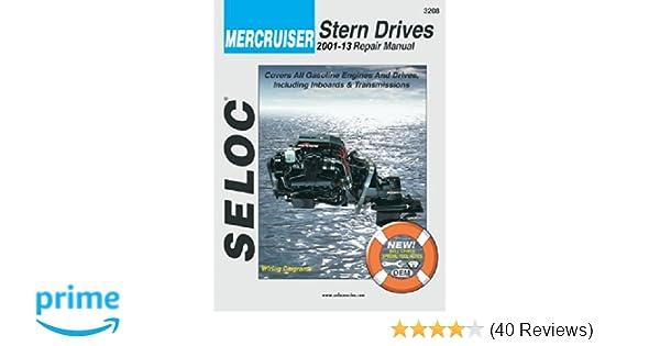 Mercruiser all gasoline enginesdrives 2001 thru 2013 seloc mercruiser all gasoline enginesdrives 2001 thru 2013 seloc marine manuals seloc 9780893300685 amazon books fandeluxe Images