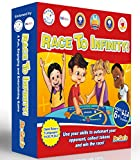 Maths Games for kids, Childrens Mental Math Game,KS2,KS1,KS3 - FUN Maths Board Game with dice,Perfect for Multiplication Times Tables, Division,Addition,Subtraction - Ages 6,7,8,9,10,11,12,13 Year Old