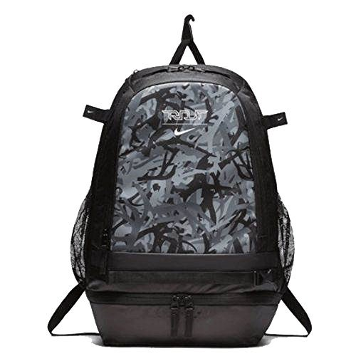 0b13bc96aa8aa Nike Trout Vapor Baseball Backpack - Black Black-White